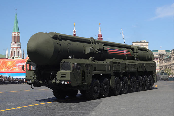 RS-24 Yars mobile intercontinental ballistic missile system