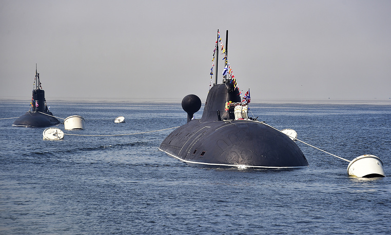 Ust Kamchatsk and Kuzbass submarines