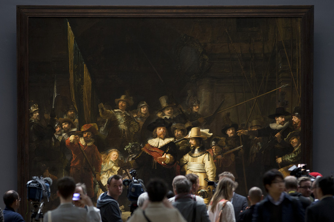"""Night Watch, a 1642 painting by Rembrandt van Rijn, was first slashed with a knife in 1911 by a random man. In 1975, """"Night Watch"""" was attacked again with a knife. And in 1990, a man sprayed acid onto the painting with a concealed pump bottle. It was fully restored later and is prominently displayed in the Rijksmuseum"""