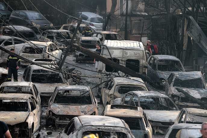 More than 50 people lost their lives in wildfires in Greece