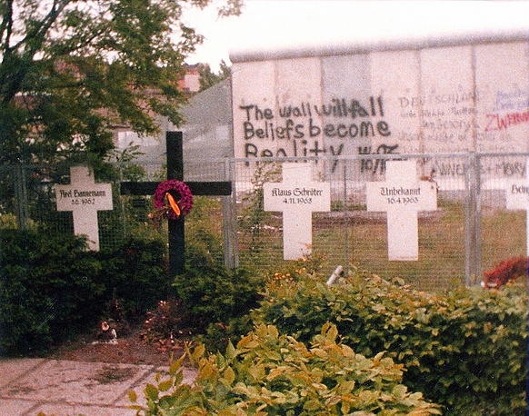 Memorial to the Victims of the Wall in Berlin