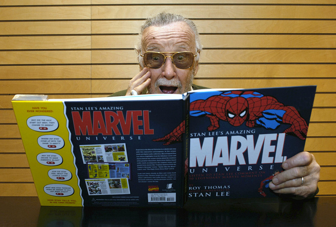 Marvel Comics creator Stan Lee died on November 12 at age 95