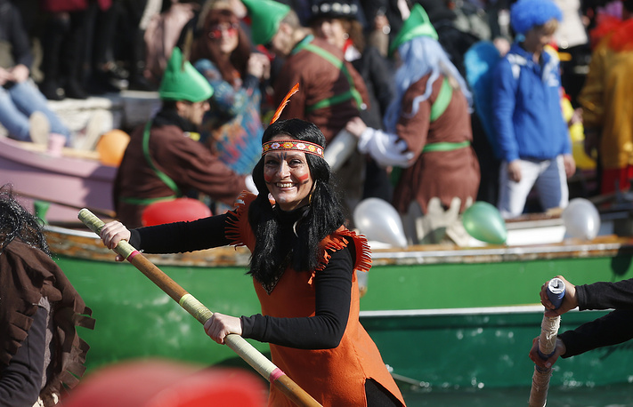 The Venice carnival is thought to have started in 1162, when Venetians spontaneously gathered to celebrate a military victory in Saint Mark's Square