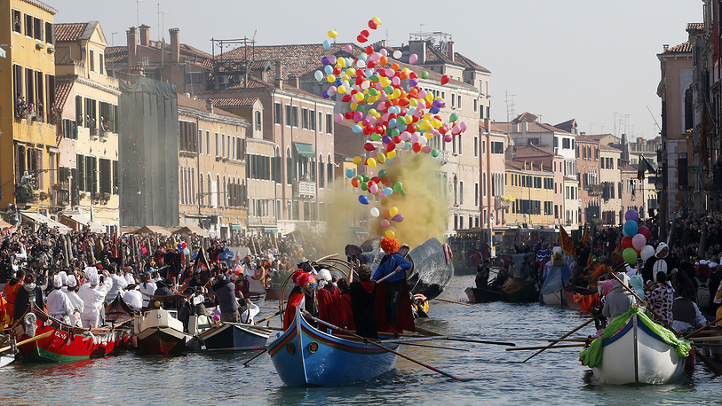 Masks have always been an important feature of the Venetian carnival