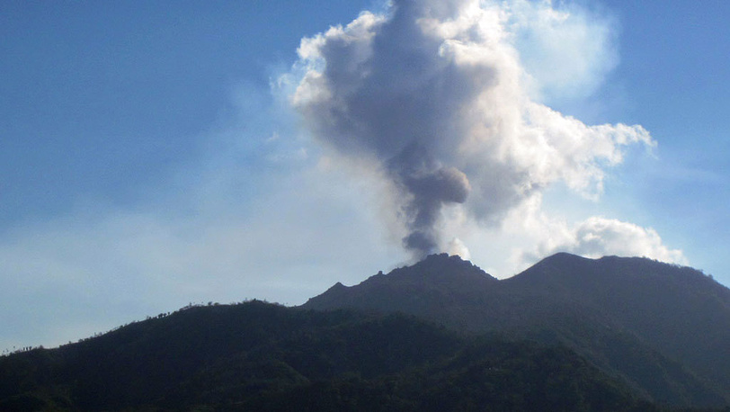 Mount Merapi. October 26, 2010