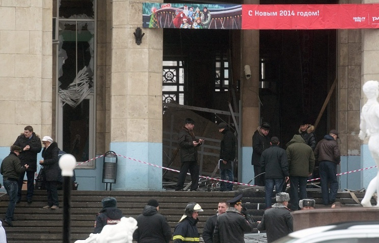 After the explosion in the building of the railway station in Volgograd ITAR-TASS/EPA/STR