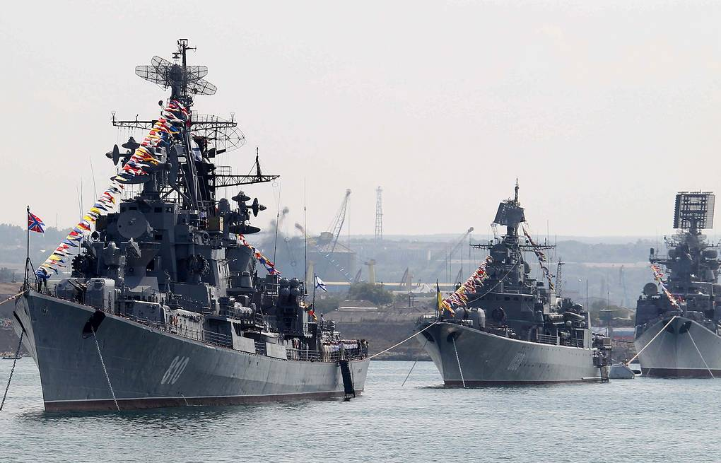 Navy Day celebrations in Sevastopol (archive) ITAR-TASS/Mikhail Klimentyev