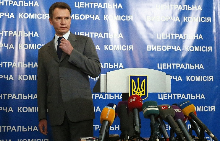 Head of Ukraine's Central Election Commission Mykhailo Okhendovsky ITAR-TASS/Zurab Dzhavakhadze