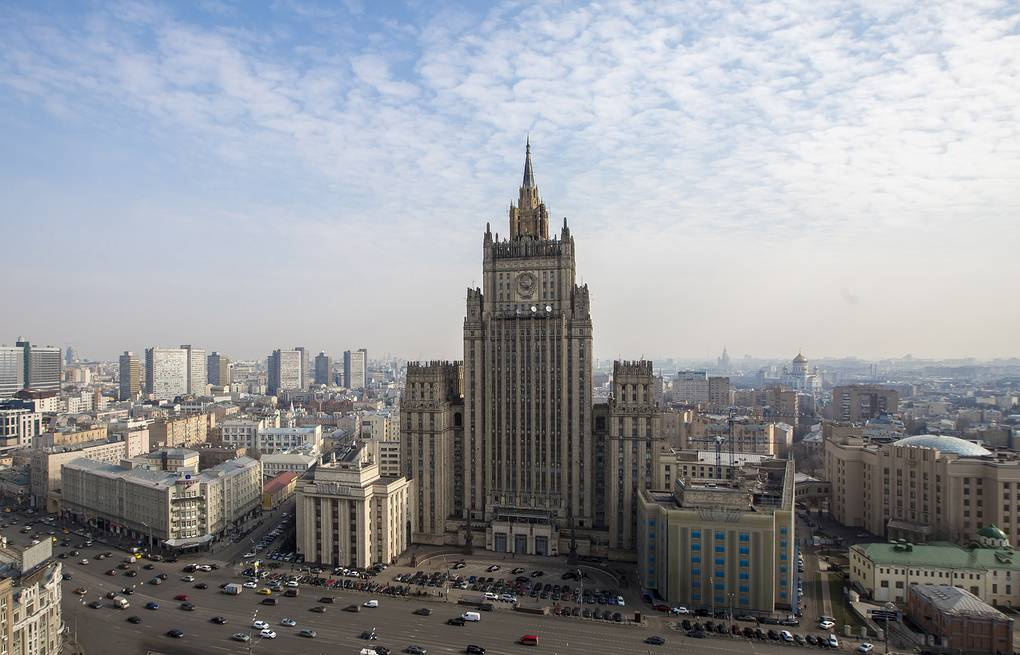Russian Foreign Ministry building in Moscow ITAR-TASS/Gennady Khamelyanin
