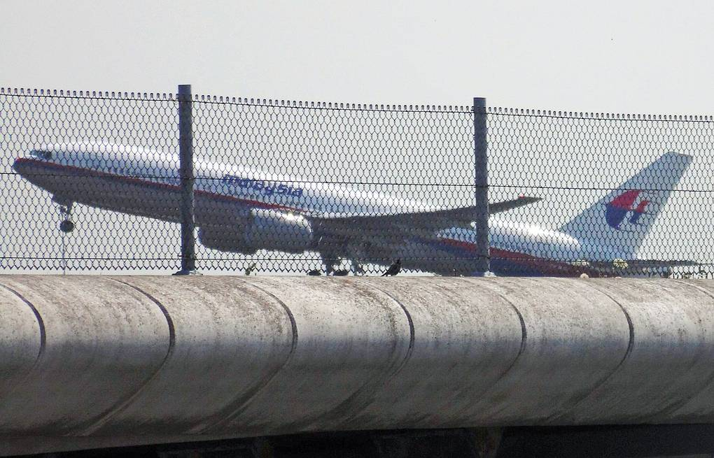 Malaysia Airlines flight MH17 takes off at 12.31 PM from Schiphol airport near Amsterdam EPA/FRED NEELEMAN
