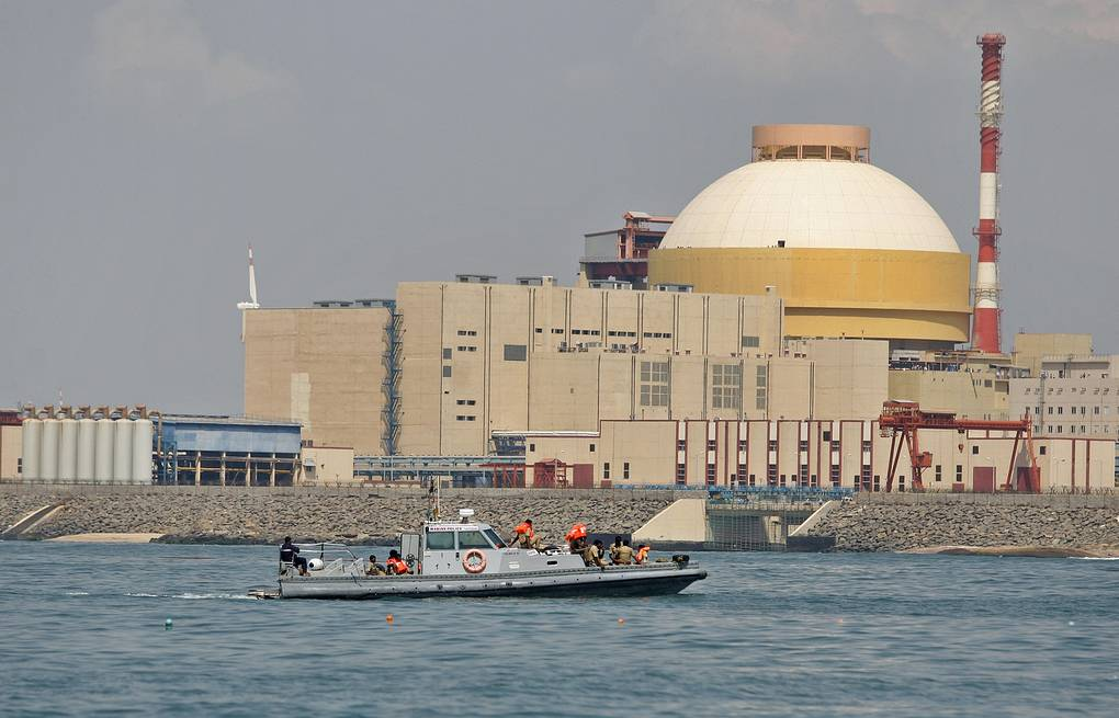 Kudankulam nuclear power plant  AP Photo/Arun Sankar K., File