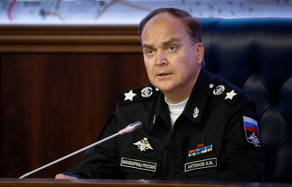 Russian Deputy Defense Minister Anatoly Antonov Russian Defence Ministry Press Office/TASS