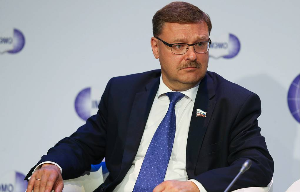 Chairman of Russian Federation Council's Foreign Affairs Committee Konstantin Kosachev Artem Korotaev/TASS