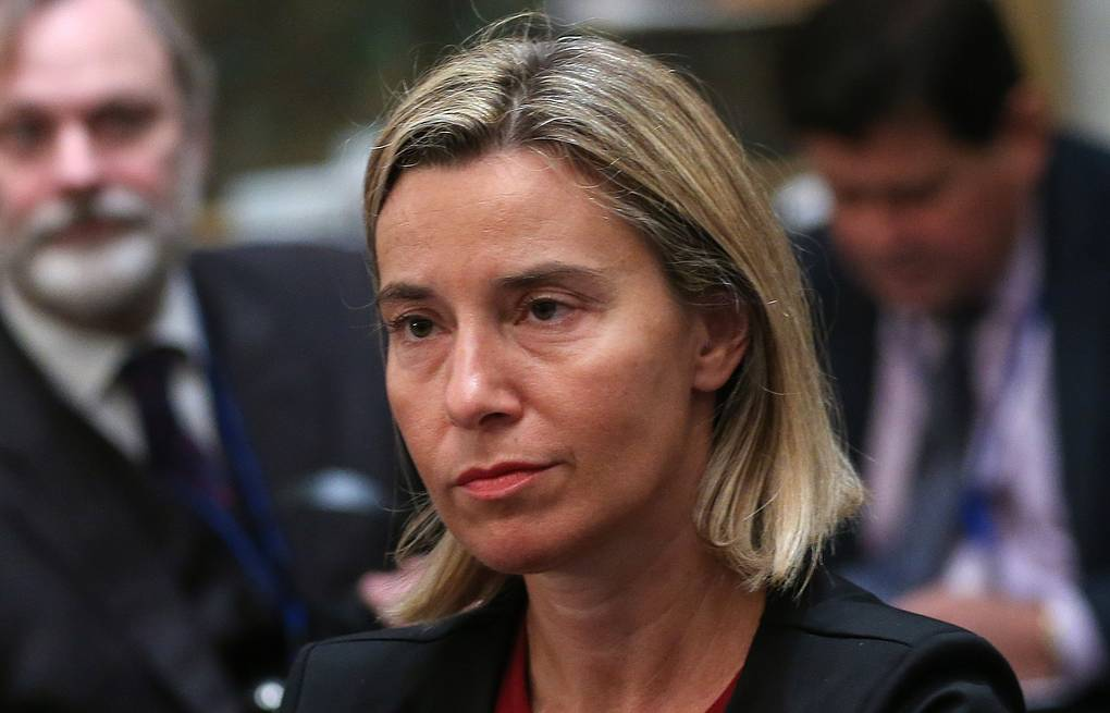 EU foreign policy chief Federica Mogherini Valery Sharifulin/TASS