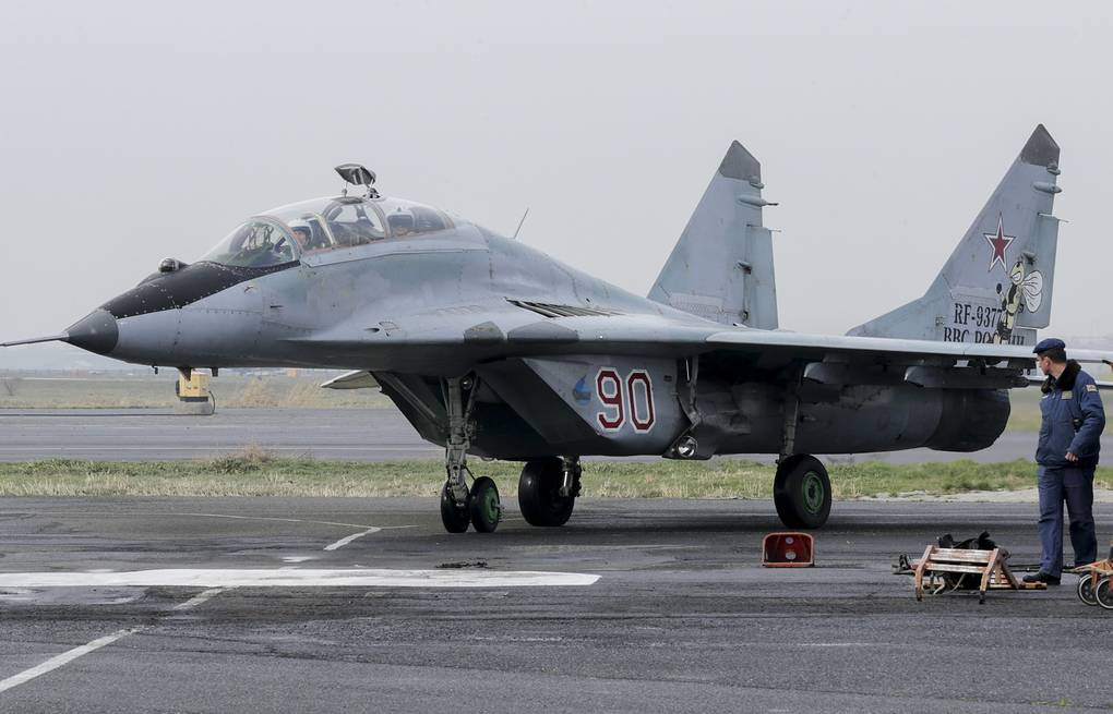 Russia's advanced MiG-35 fighter jet to use cutting-edge