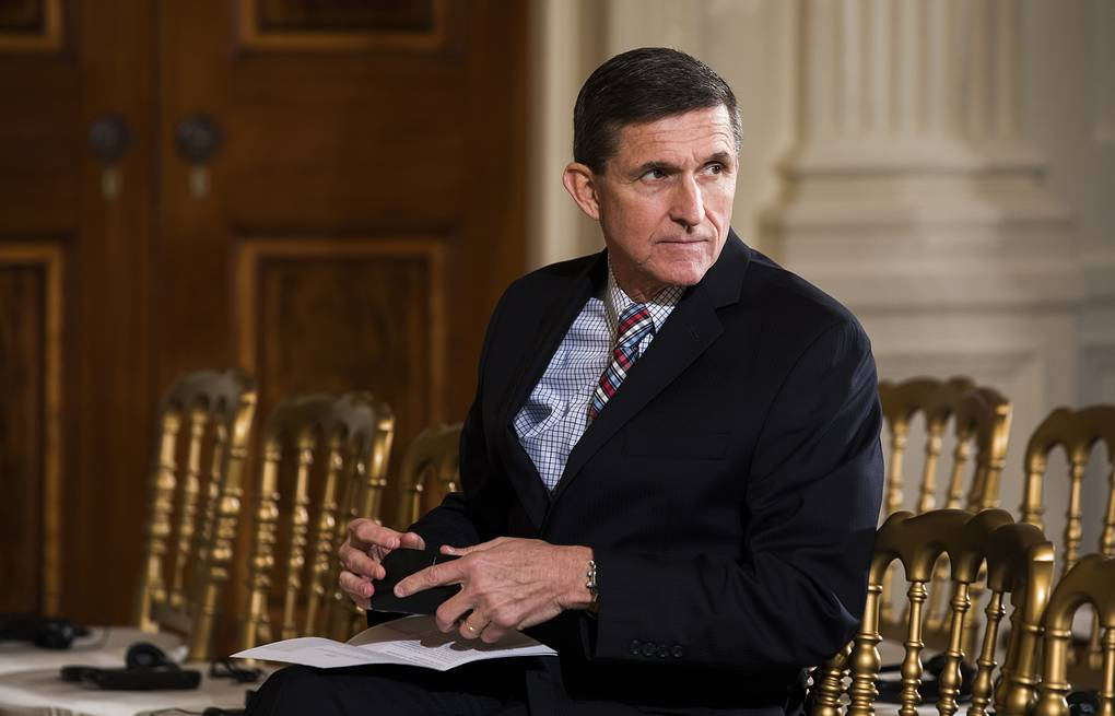 Michael Flynn EPA/JIM LO SCALZO