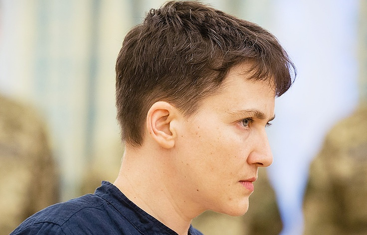 Nadezhda Savchenko Mihail Palinchak/The press service of the President of Ukraine/TASS