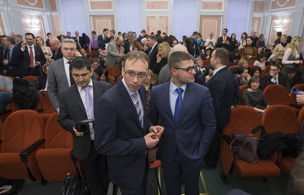 Members of Jehovah's Witnesses in Russia's Supreme Court AP Photo/Ivan Sekretarev