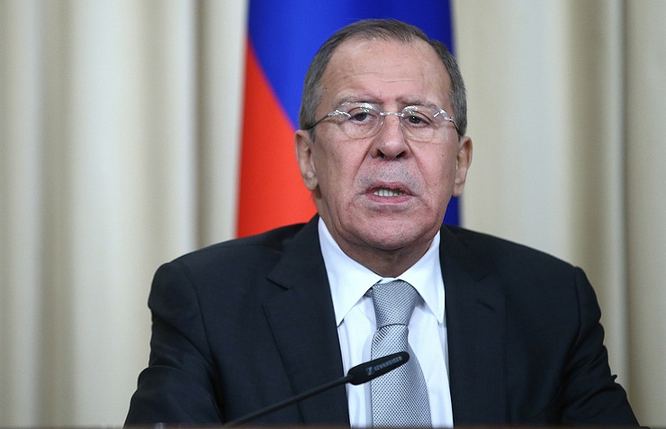 Minister of Foreign Affairs of the Russian Federation Sergey Lavrov  Sergey Fadeichev / TASS