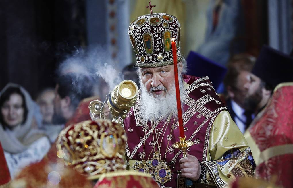 Patriarch Kirill of Moscow and All Russia Artem Geodakyan/TASS