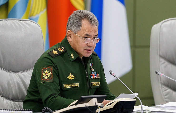 Sergei Shoigu Russian Defense Ministry's press service/TASS