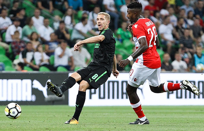 Krasnodar Fc Beats Crvena Zvezda 3 2 In Europa League Play Off First Leg Match Sport Tass