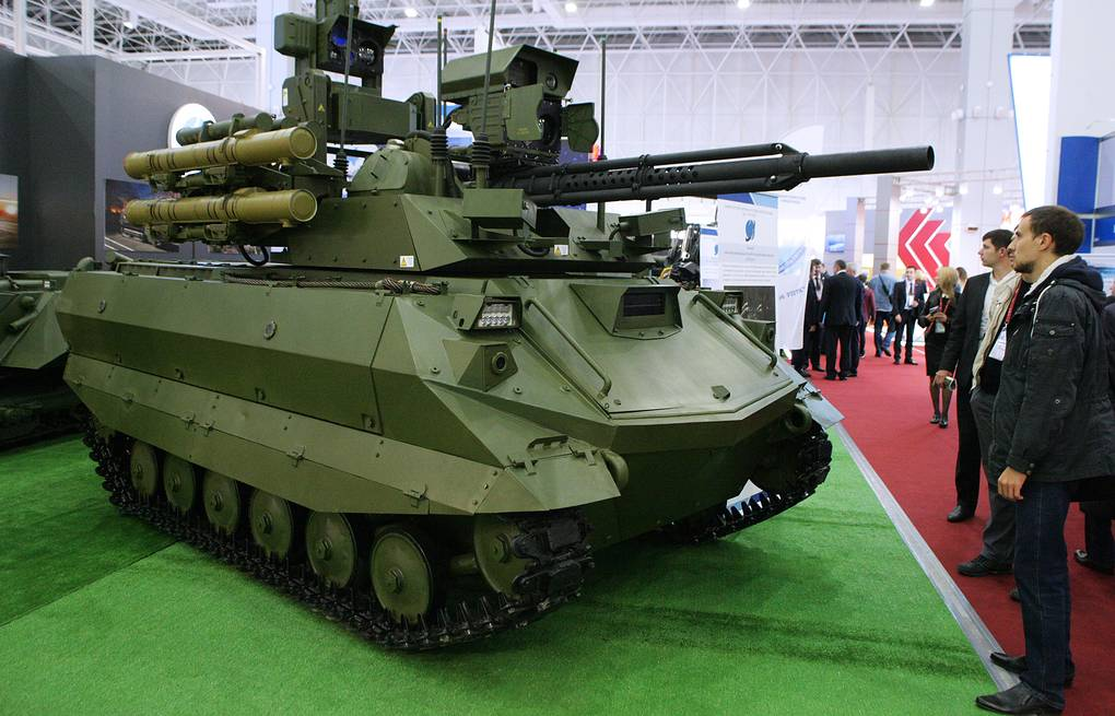Uran-9 robotic vehicle Ladislav Karpov/TASS