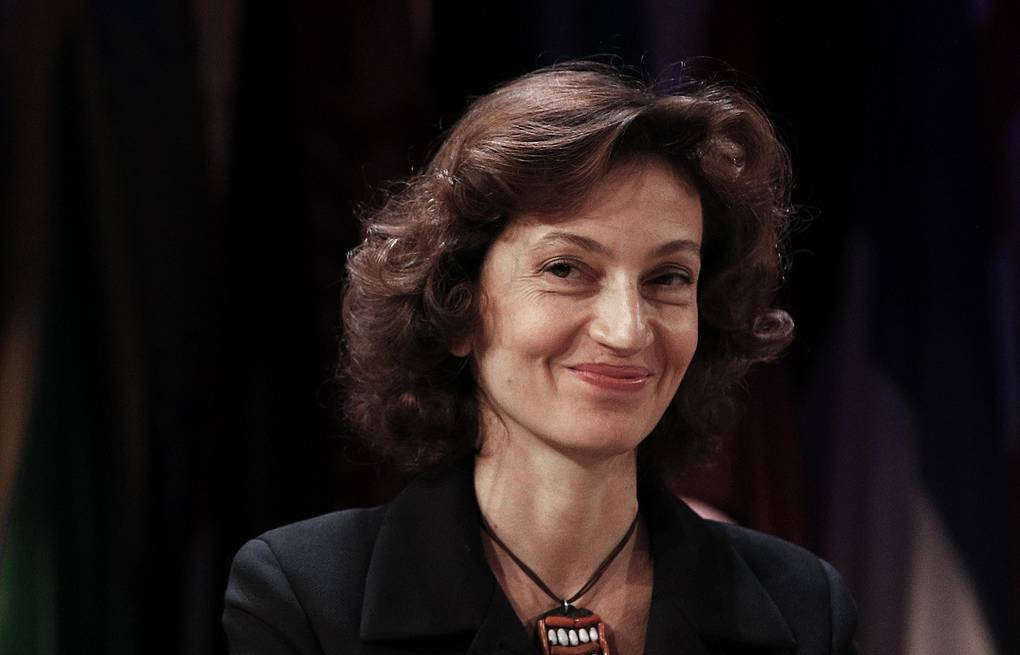 Audrey Azoulay AP Photo/Christophe Ena