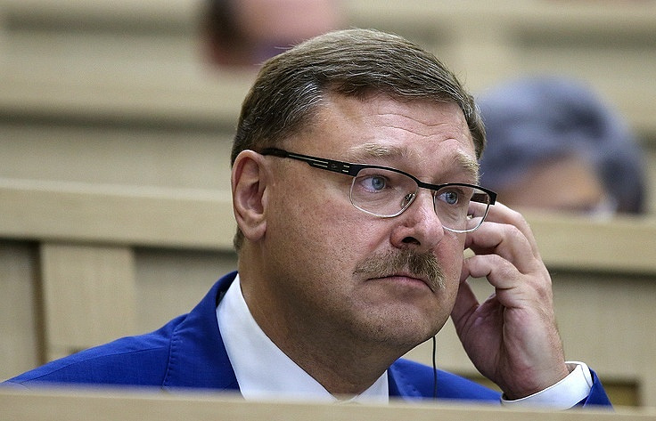 The chairman of the Federation Council Committee on International Affairs, Konstantin Kosachev Valery Sharifulin/TASS