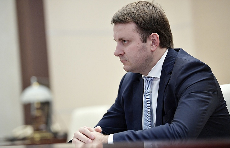 Russian Economic Development Minister Maxim Oreshkin Alexei Nikolsky/Russian Presidential Press and Information Office/TASS