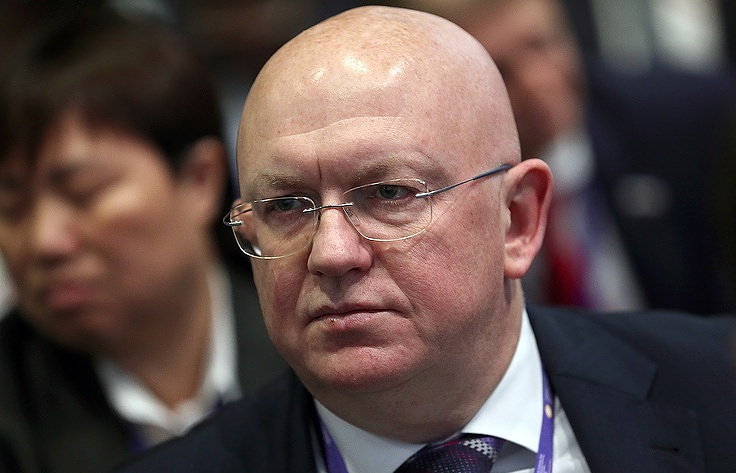 Russian Permanent Representative to the United Nations Vasily Nebenzya Valery Sharifulin/TASS