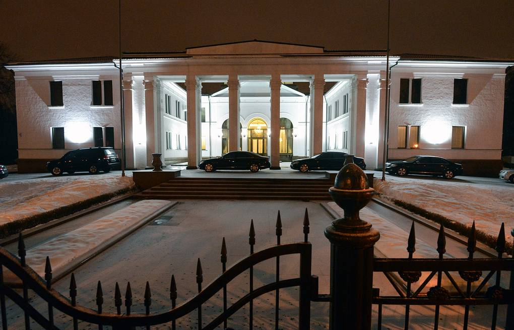 A government residence, where members of the Contact Group on the Settlement in Eastern Ukraine inked an agreement in Minsk  Viktor Drachev/TASS