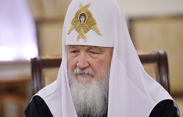 Patriarch of Moscow and all Russia Kirill Stoyan Vasev/TASS