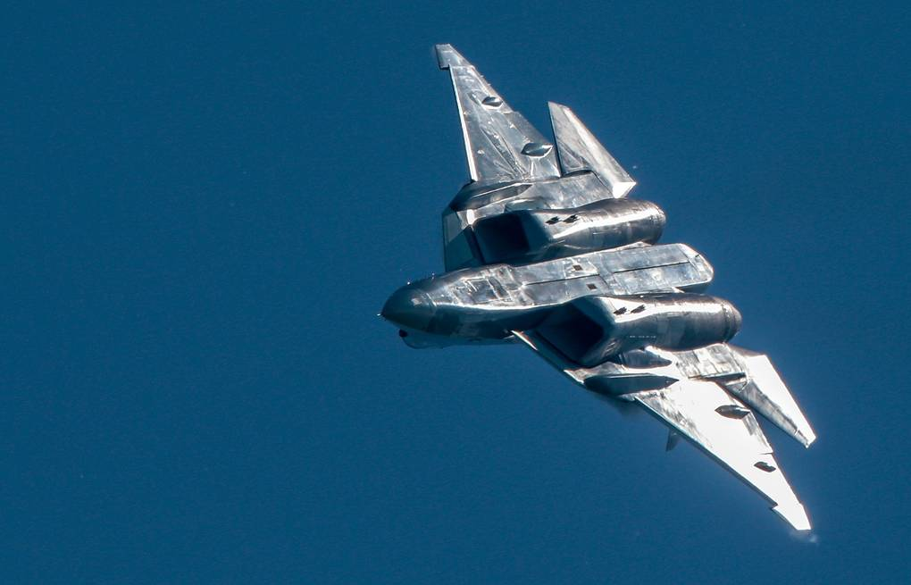 Su-57 stealth fighter jet Sergei Bobylev/TASS