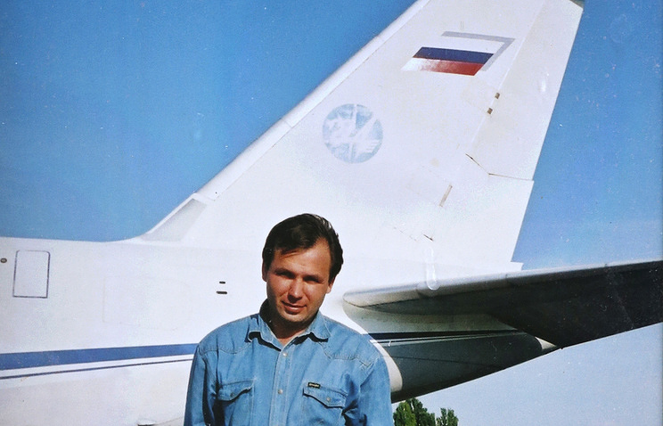 Reproduction of a photo of Russian pilot Konstantin Yaroshenko from his mother's personal archive Valery Matytsin/TASS