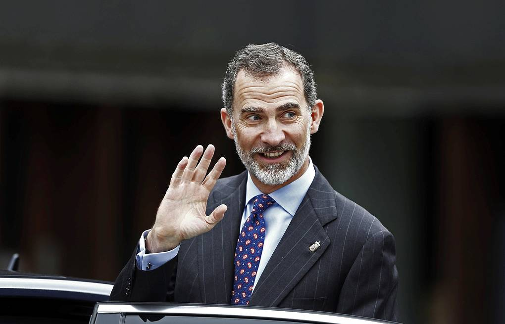 Spanish King Felipe VI EPA-EFE/Jesus Diges