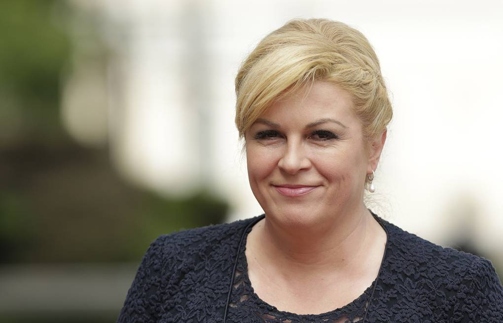 Croatian President arrives in Sochi to attend 2018 World Cup