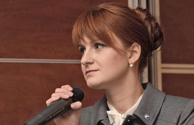 Maria Butina EPA-EFE/Press Service of Civic Chamber of the Russian Federation