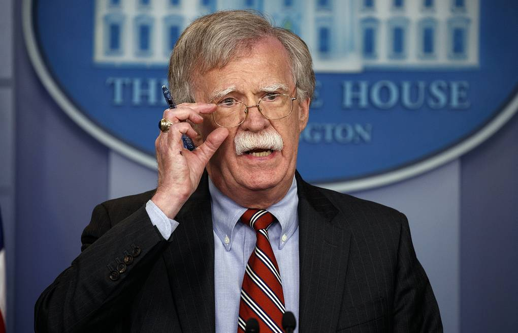 US National Security Adviser John Bolton  AP Photo/Evan Vucci