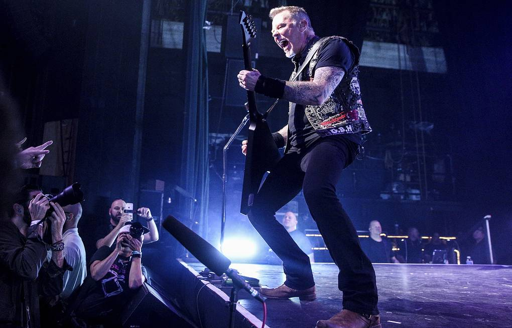 Metallica's WorldWired tour coming to Moscow in summer 2019