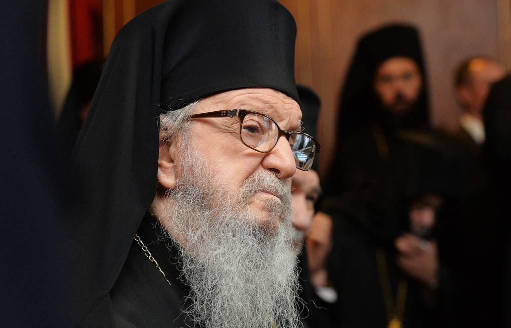 Ecumenical Patriarch Bartholomew I of Constantinople  Press Office of the Patriarch of Moscow and All-Russia/TASS