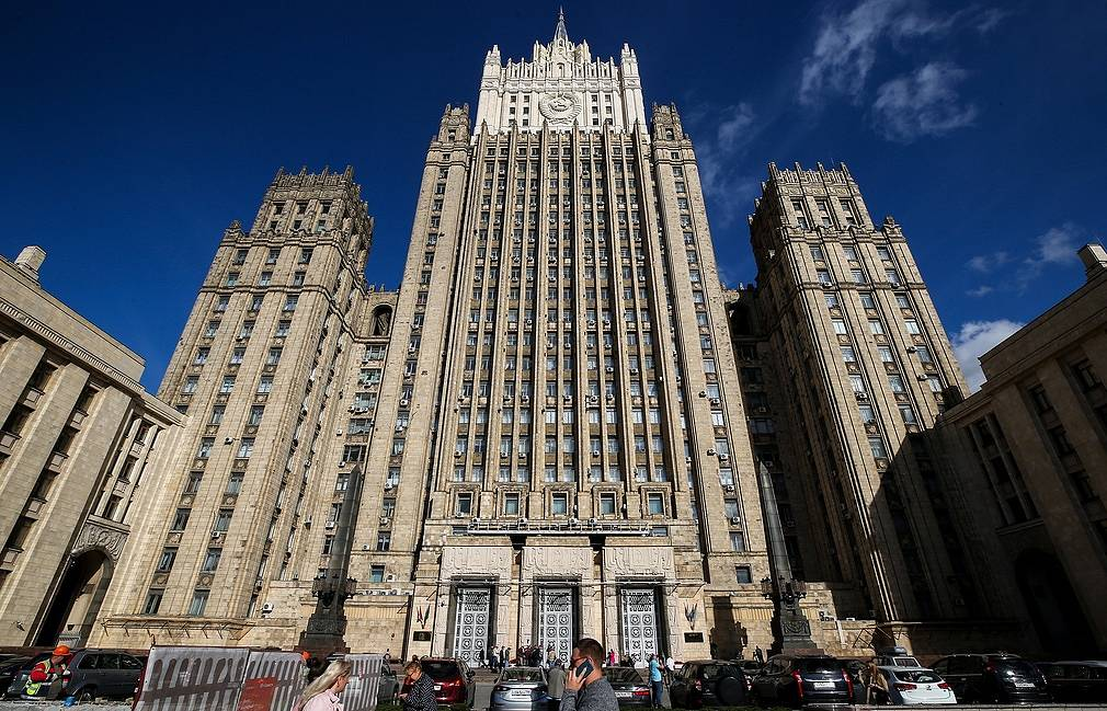 Russian Foreign Ministry's building Sergei Fadeichev/TASS