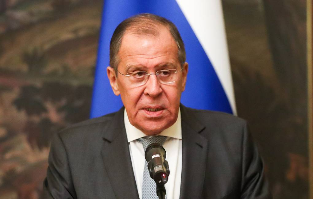 Russian Foreign Minister Sergey Lavrov Vyacheslav Prokofyev/TASS