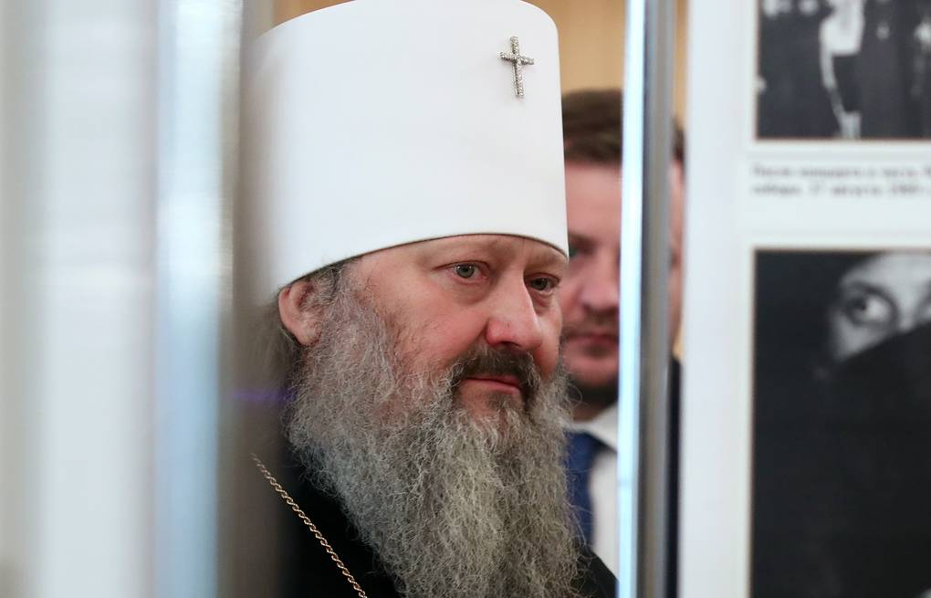 Father Superior of the Kiev-Pechersk Lavra, Metropolitan Pavel Valery Sharifulin/TASS