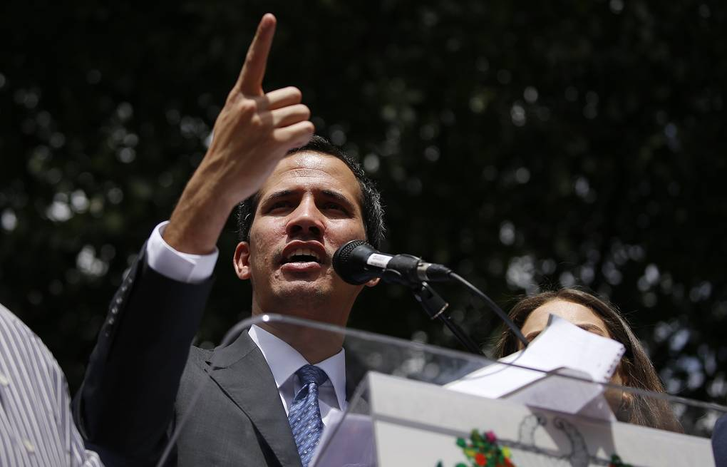 Venezuelan opposition leader Juan Guaido AP Photo/Fernando Llano