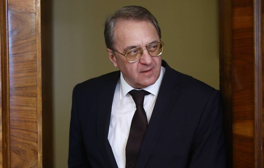 Russian Presidential Envoy for the Middle East and Africa, Deputy Foreign Minister Mikhail Bogdanov Valery Sharifulin/TASS