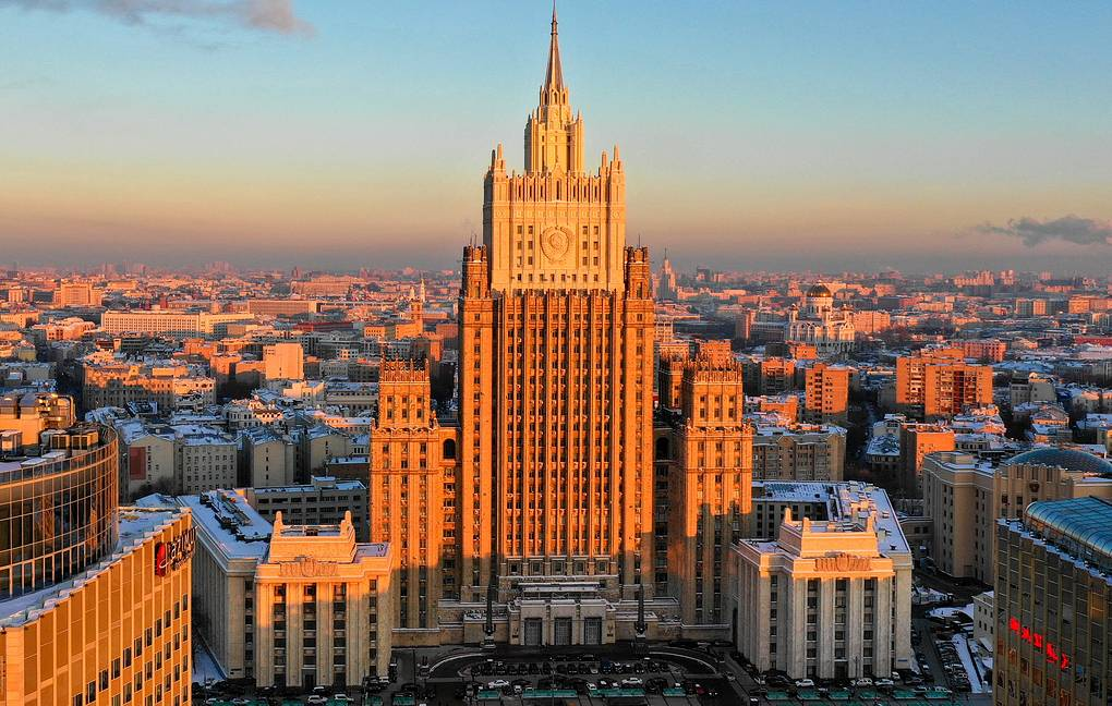 The Russian Foreign Ministry building in Moscow Valery Sharifulin/TASS