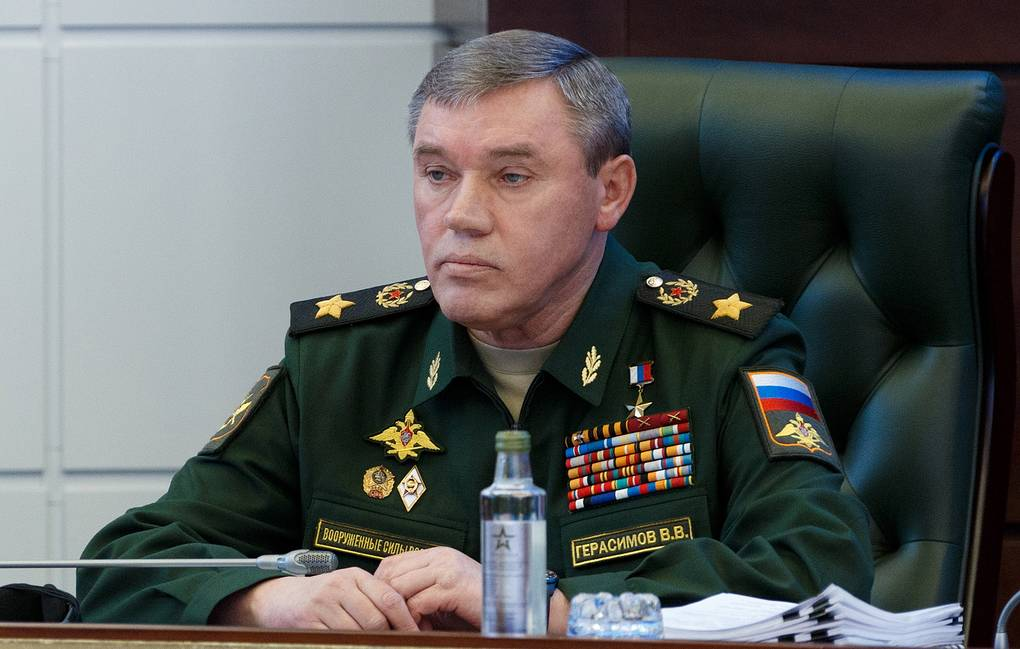 Russia's First Deputy Defense Minister and Chief of the General Staff Valery Gerasimov Alexei Yereshko/Russian Defence Ministry Press Office/TASS