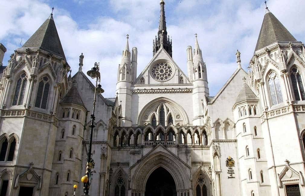 The High Court of Justice of England and Wales EPA PHOTO EPA/ADRIAN DENNIS
