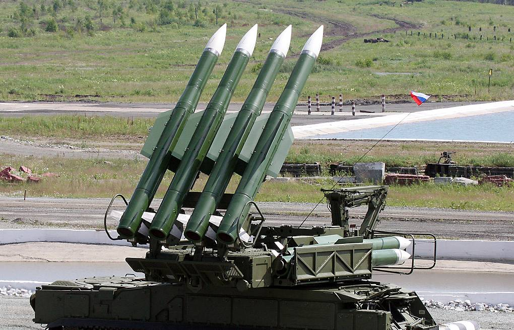 Buk-M1-2 surface-to-air missile system  Anatoly Semekhin/TASS